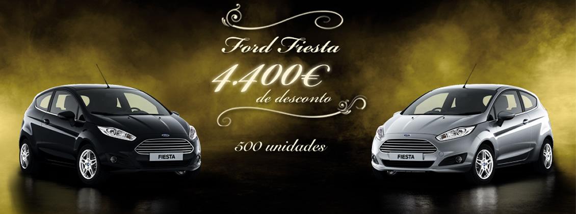 O Ford Fiesta tem agora 4400€ de desconto.